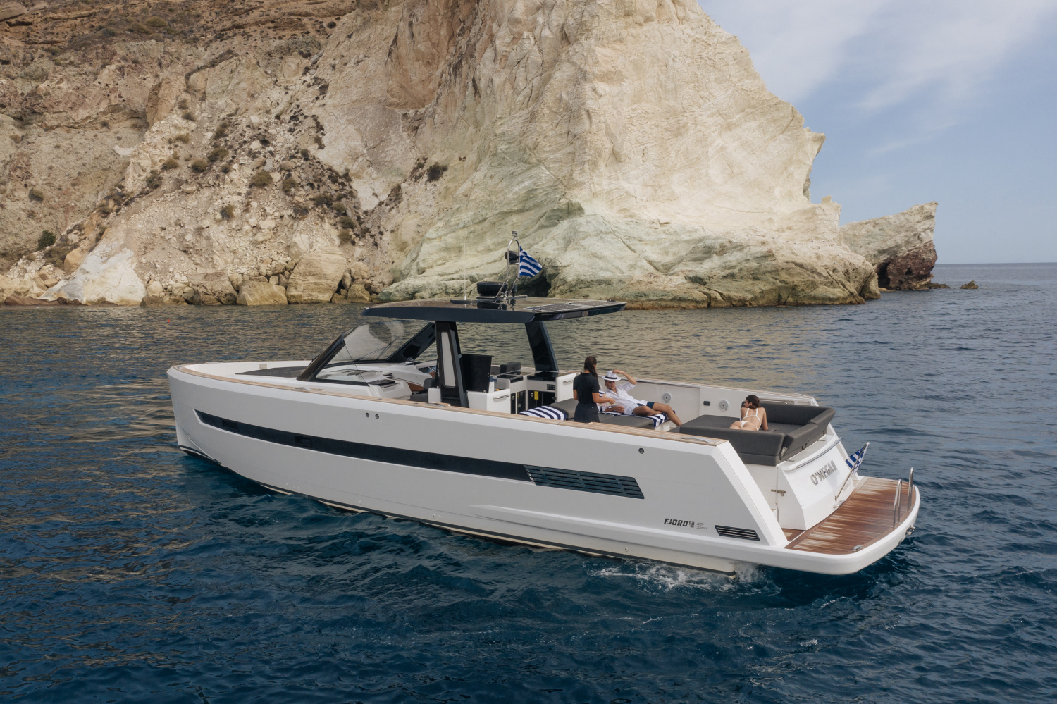 FJORD 52 OPEN | PRIVATE CRUISE TO OTHER ISLAND